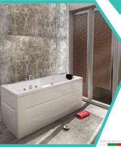 Правоъгълна акрилна вана модел ВЕНЕРА 160*80