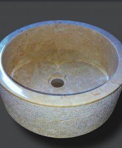 Бутикови мивки уникат от камък и дърво