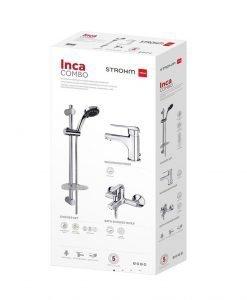 Комплект смесители за баня INCA COMBO TEKA Б.5560.ХР