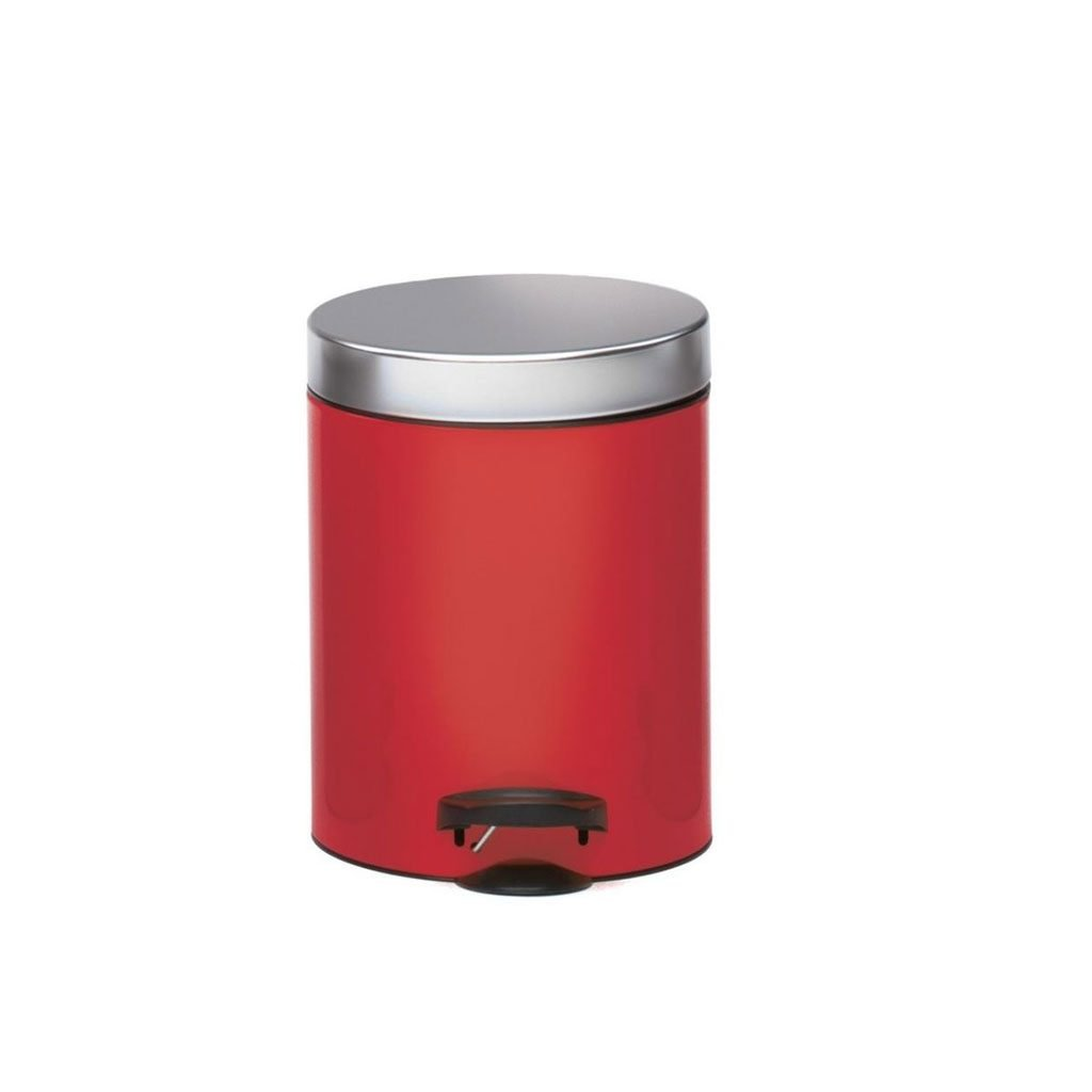 Кош за баня MELICONI NEW LINE RED 5 литра
