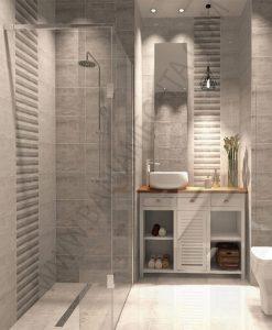 Плочки за баня модел EQUADOR WHITE