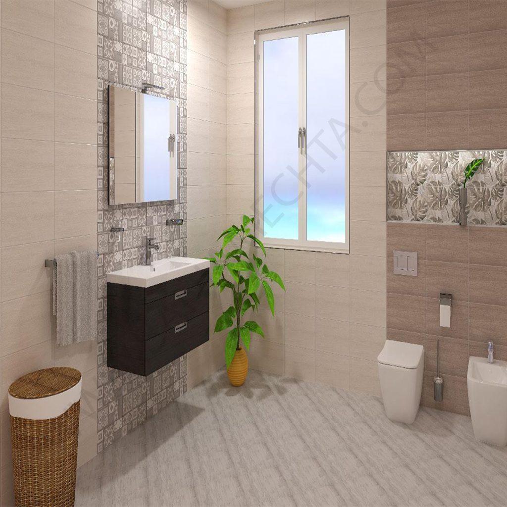 Плочки за баня модел LUMENA GREY