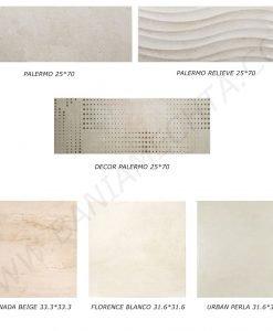 Плочки за баня серия PALERMO