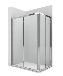 Асиметрична душ кабина  100*80 ROCA VICTORIA AM176C0012