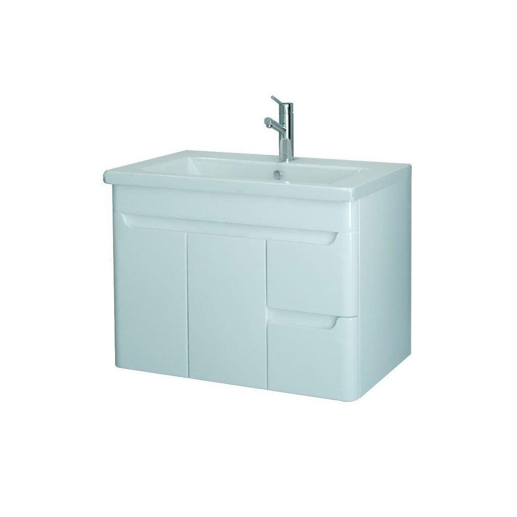 Долен PVC шкаф с мивка модел WAVE