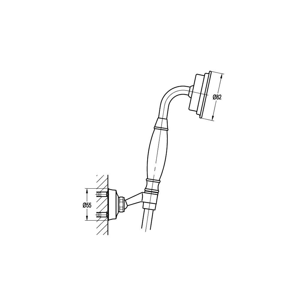 Комплект за душ NOVARA TREND BS2083A-568 ORB