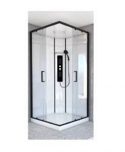 Квадратна хидромасажна душ кабина SKY SQUARE