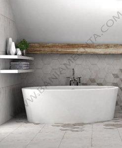 Плочки за баня модел PIETRA HEXAGONS