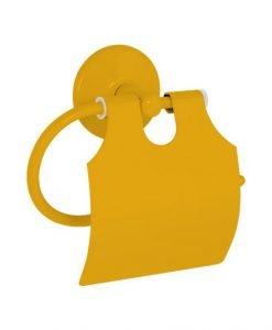 Поставка за тоалетна хартия жълт модел DUCK