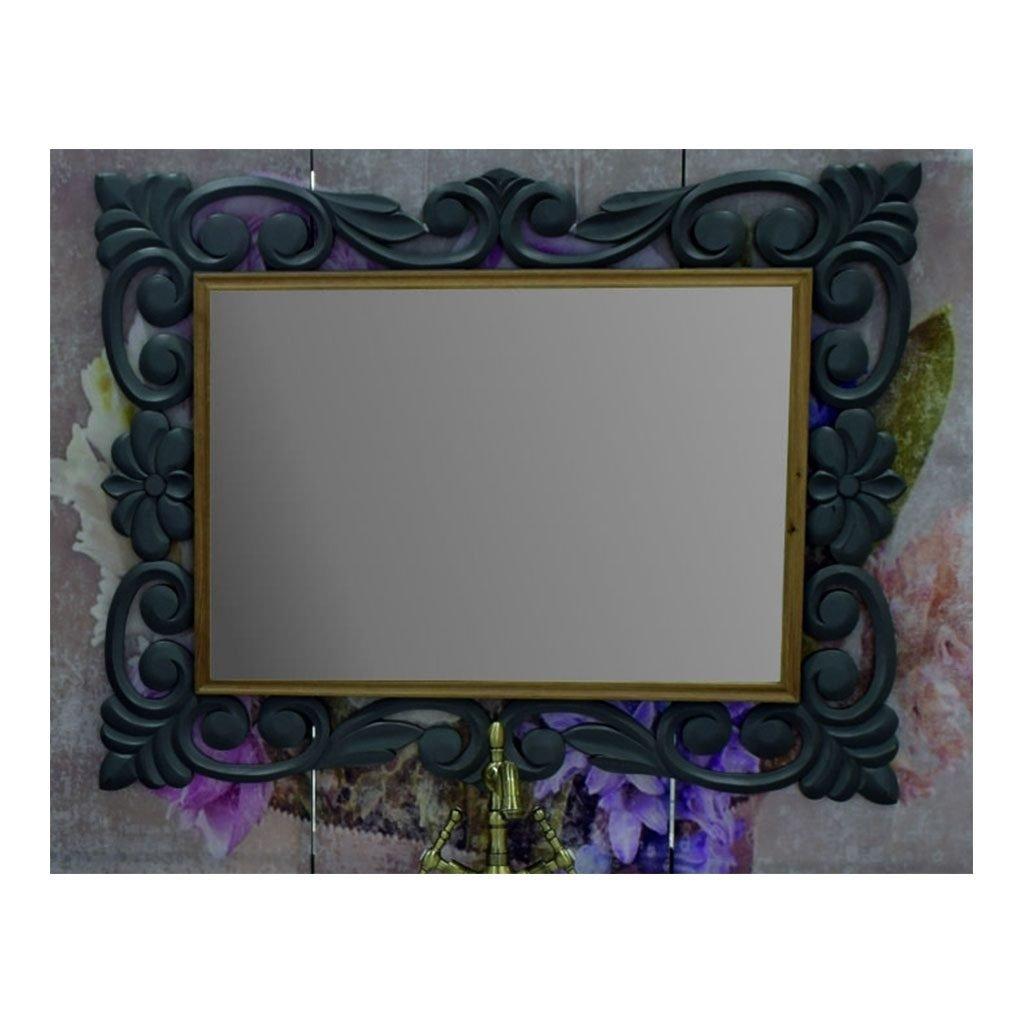 Ретро огледало изработено от масив липа ICM 7206G