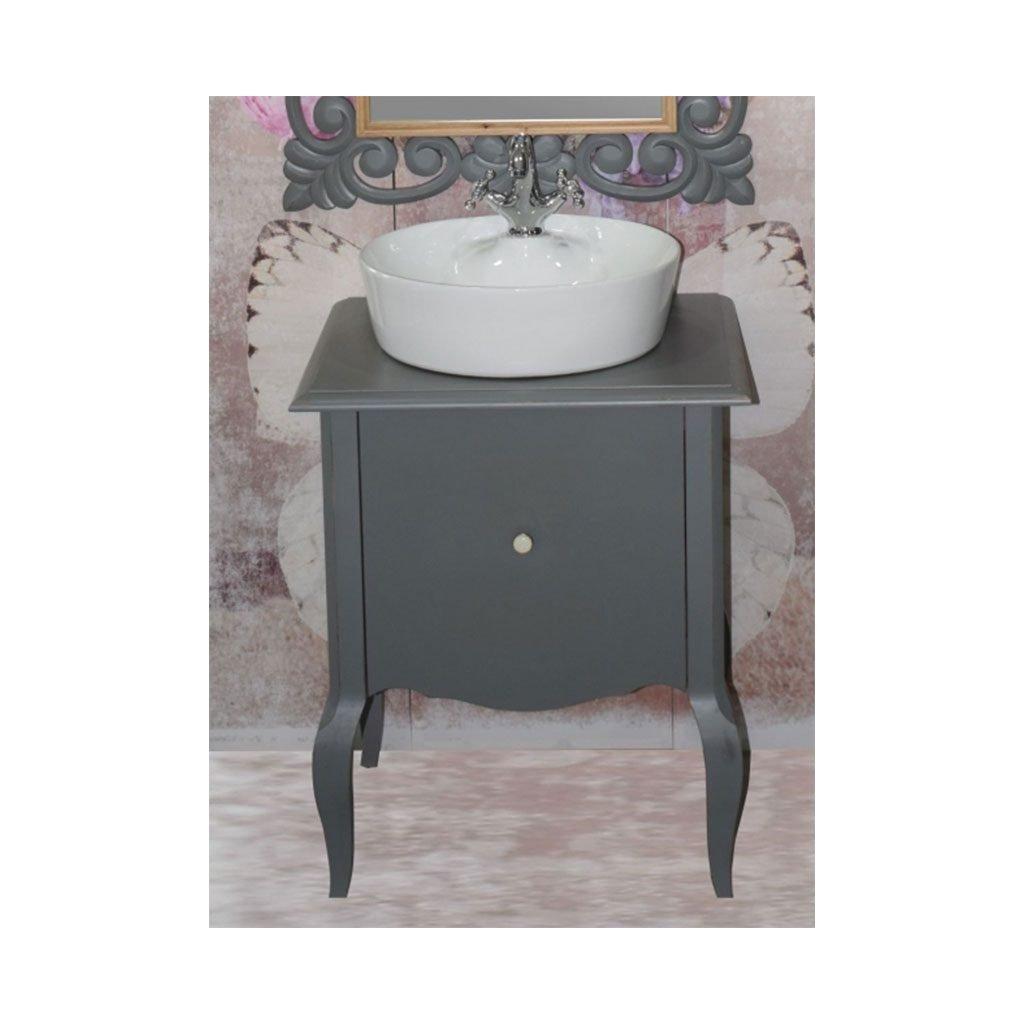 Ретро шкаф за баня изработен от масив липа ICP 6073G