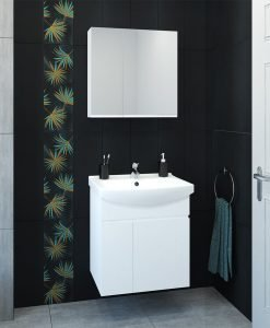 Комплект PVC шкаф за баня МАГИ 60 NEW