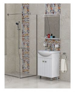 Комплект PVC шкаф за баня модел Хавана