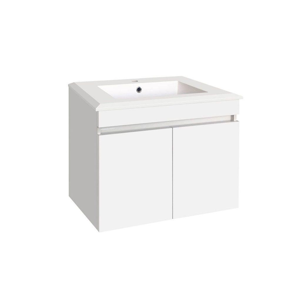 PVC долен шкаф с мивка Емелин ICP 7355
