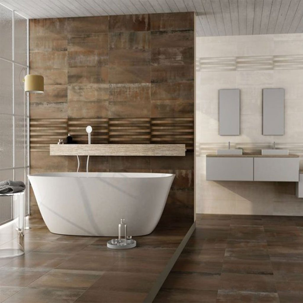 Испански плочки за баня серия METAL ART