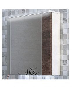 Огледален PVC шкаф Манхатън 55