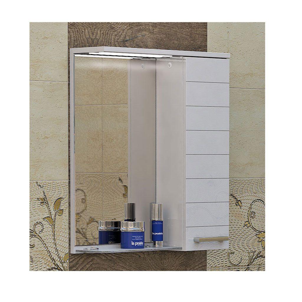 Огледален PVC шкаф модел Корнер 55