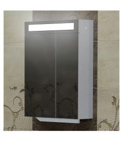 Огледален PVC шкаф модел Тренто 50