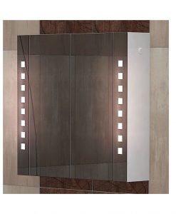 Огледален PVC шкаф за баня модел Сиана 70