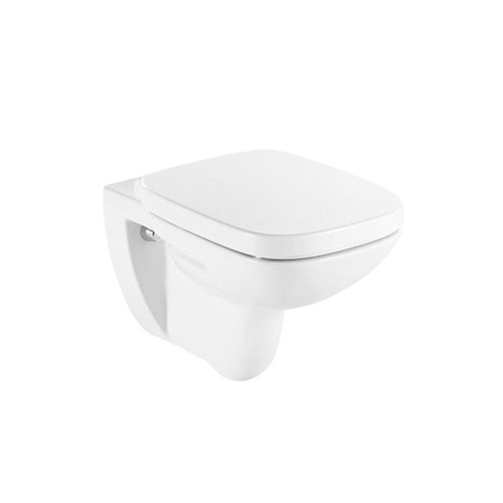 Окачена тоалетна чиния ROCA DEBBA RIMLESS SQUARE 34699L000 Soft close