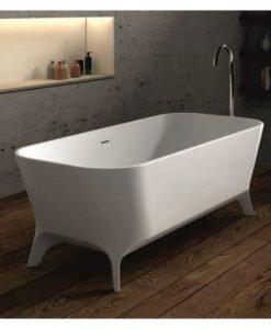 Правоъгълна свободно стояща вана от камък ICL 65115 180*80*60