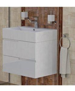 PVC шкаф долна част с мивка модел Виола 60