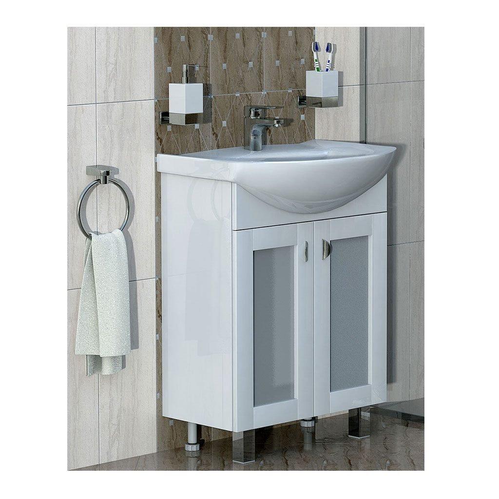 PVC шкаф с мивка модел Елеганс 60