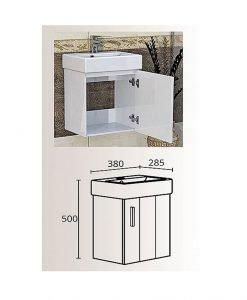 PVC шкаф с мивка модел Литъл 38