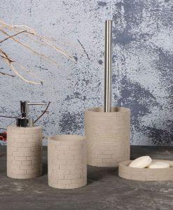 Аксесоари за баня от бетон серия Ваяна