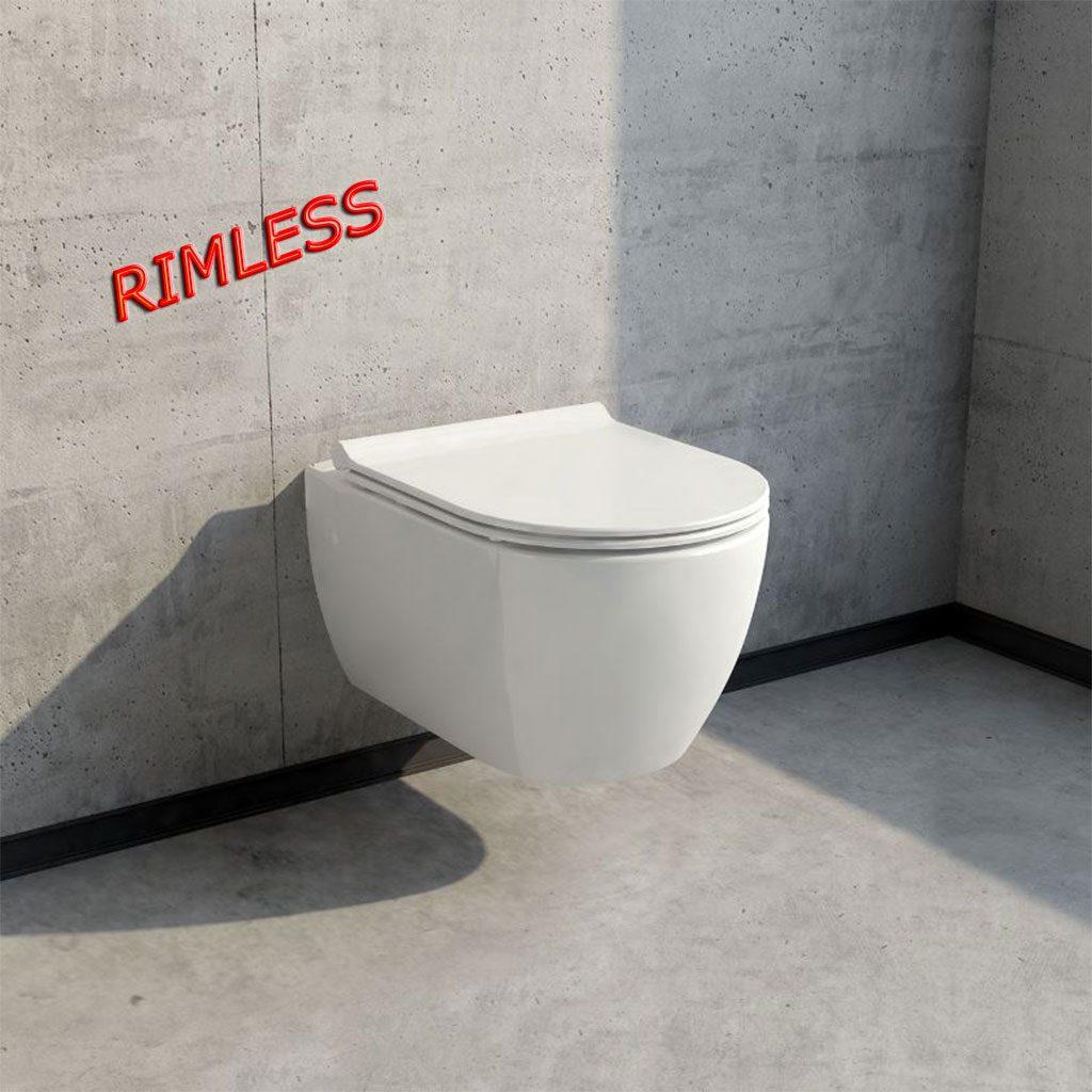 Конзолна тоалетна PIZA RIMLESS