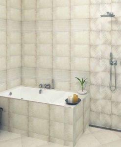 Плочки за баня серия LUCAN CREAM 25*50