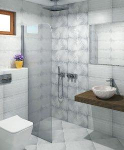 Плочки за баня серия LUCAN GREY 25*50