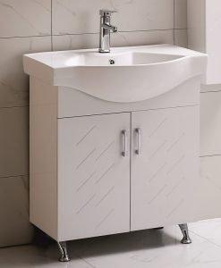 PVC шкаф долна част с мивка ЕЛМИРА 7049