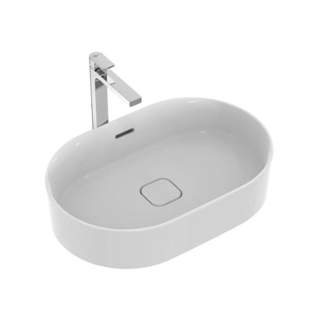 Овална мивка за монтаж ву плот IDEAL STANDARD STRADA II T360401 60см
