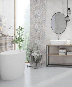 Плочки за баня серия PARIS 25*75
