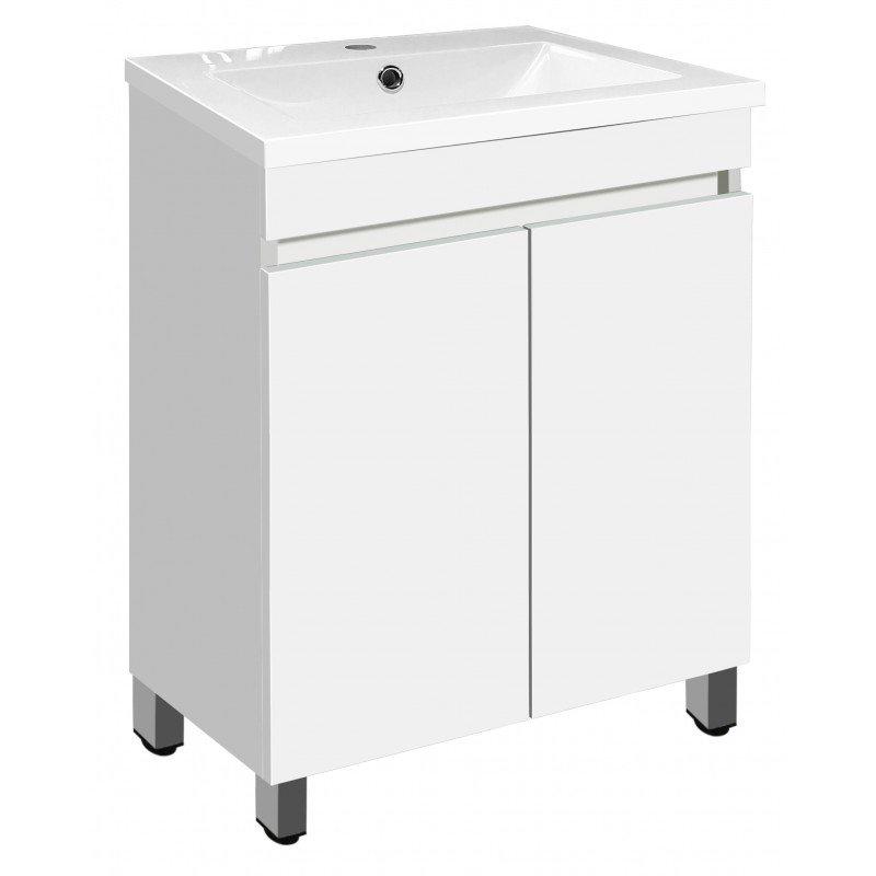 PVC шкаф долна част с мивка 5081