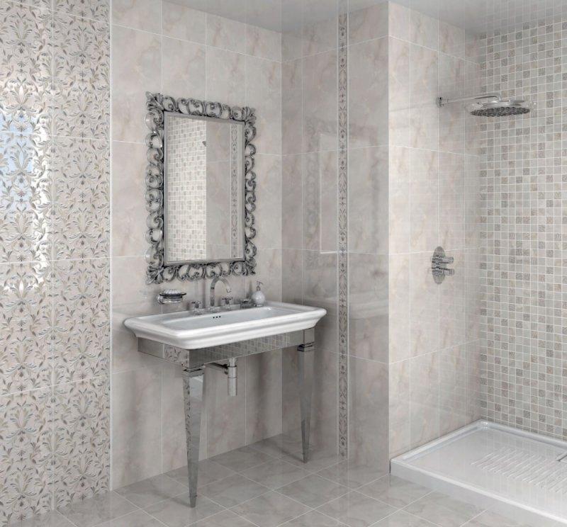 Плочки за баня VIRGILIANO GREY