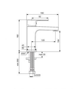 Смесител за умивалник Ideal Standard Esla BC224AA