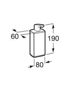 Дозатор за течен сапун ROCA SELECT A816304001