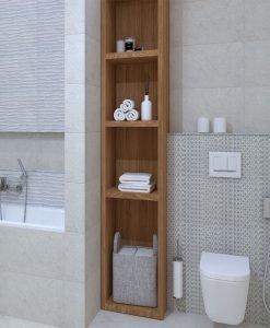 Плочки за баня Bien Seramik Wavy Grey 30*60