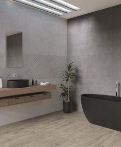 Плочки за баня DRAVA SILVER 30*90