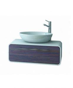 PVC шкаф за баня с чекмедже OVAL 80