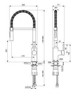 Смесител за умивалник Ideal Standard Ceralook BC302AA