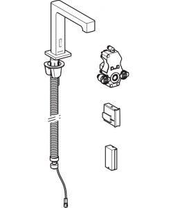 Смесител за умивалник с фотоклетка и вградено управление GEBERIT BRENTA 116.193.21.1