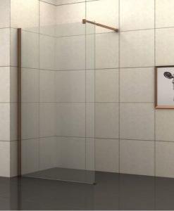 Параван стационарен прозрачно стъкло БРОУДИ ICS 117-80