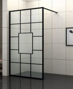 Параван стационарен рисувано стъкло БЛЕЙК ICS 115-80
