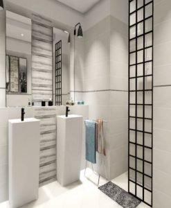Плочки за баня модел CUERDA 20*50