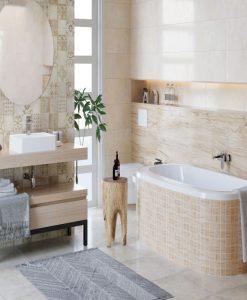 Плочки за баня модел MALTA/SWEET HOME 25*75
