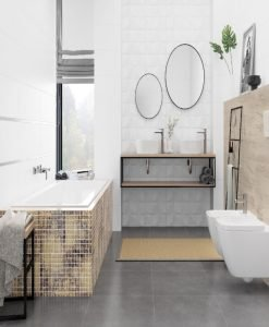 Плочки за баня SWEET HOME/QUADRA 25*75