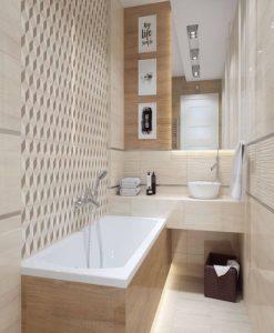 Плочки за баня TUBADZIN модел PINETA 30.8*60.8
